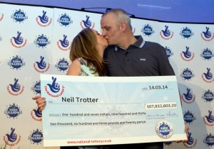 Euromillions nyertes Neil Trotter